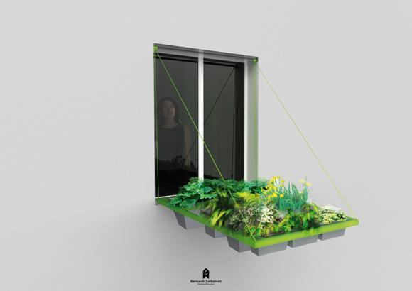 Huerto colgante en tu ventana - Fabriquer un jardin suspendu ...