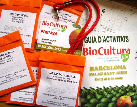 En Biocultura Barcelona 2012