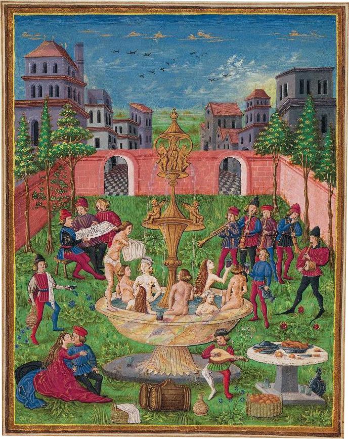 Jardin cerrado fuente de la eterna juventud